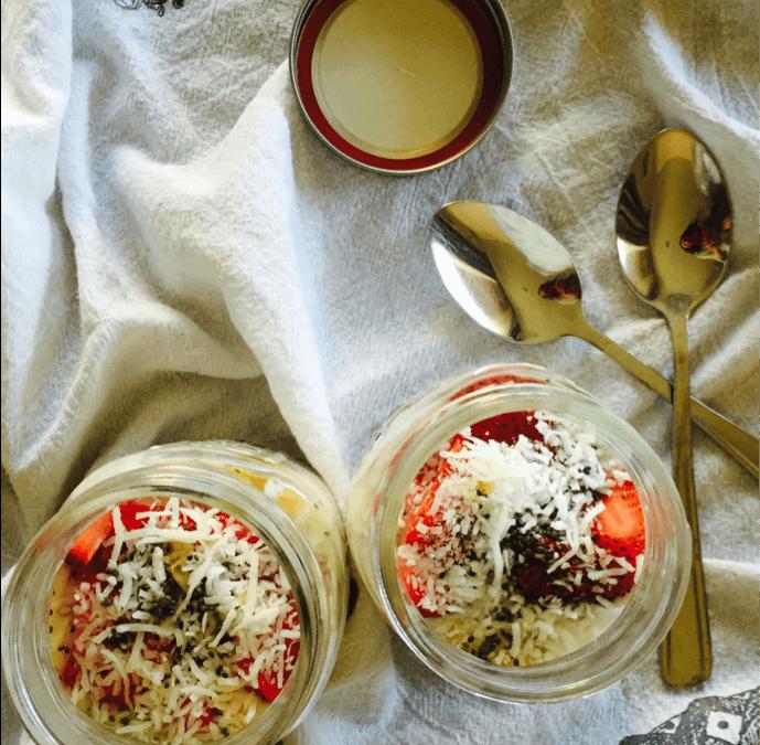 Guest Blogger – Wheat Berry Parfait
