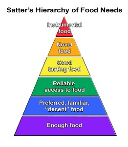 Hierarchy of food needs