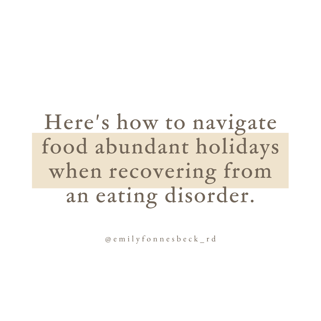 food abundant holidays