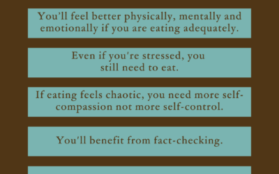 5 truths about eating and self-care during stressful times
